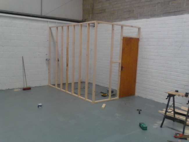 A start on store room 1